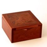 Myrtle Burl Ring Box