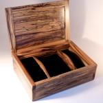 Spalted Sassafras Heirloom Jewellery Box